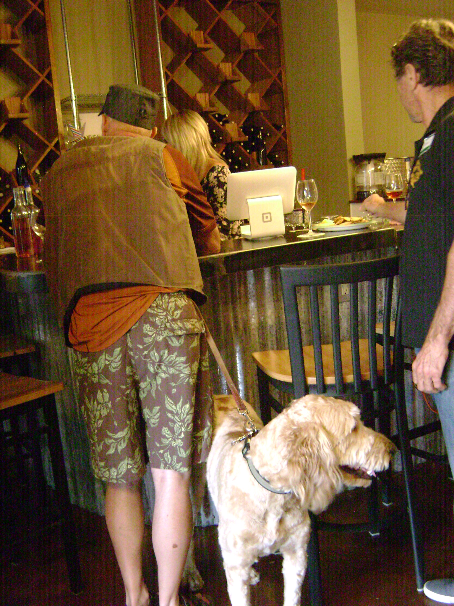 Dog-friendly wine tasting during a July event at Nevada Sunset Winery  Photo: @GrapeBasinNews