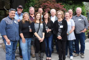 Winemakers after the awards ceremony at the 2018 Home Winemakers Competition. Photo: @GrapeBasinNews