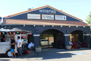 Signage at Wineries On 4th,  set to operate as intended in summer of 2018 with three resident vintners.  Photo: @GrapeBasinNews